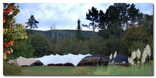 a magnificent marquee
